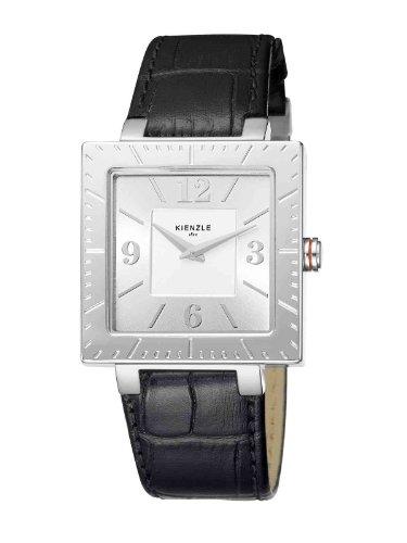 Kienzle K5032011011-00066 - Reloj analógico de Cuarzo para Mujer con Correa de Piel, Color Negro