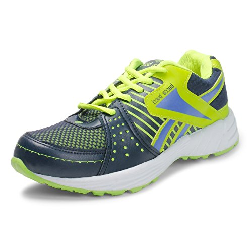 Bacca Bucci Men Green Mesh Sports Shoes 10 Uk