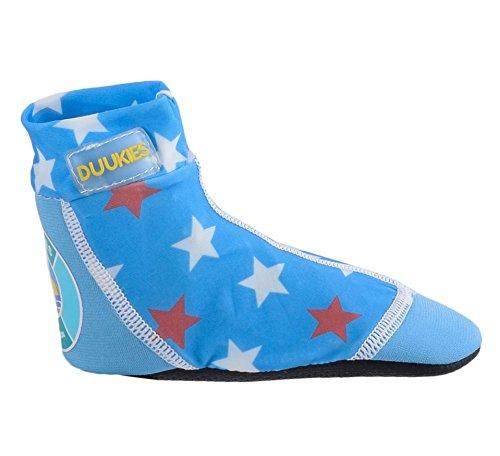 SALE! Duukies UV Strandsocken / Jungen / Mädchen / ABS Socken / Neonpren / Strandschuhe / Badeschuhe/ Aquaschuhe HOLKI100-f5151 Farbe: Blau, Gr. 20/21 (Lauren Hosen Mädchen Ralph)