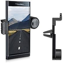 kwmobile KFZ Lüftungshalterung für Blackberry Priv - PKW Auto Halter Lüftungsschlitz in Schwarz