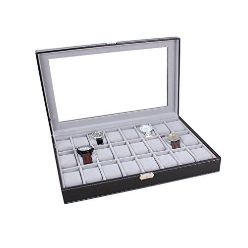 uhrenbox-uhrenkoffer-herren-frauen-uhrenkasten-fr-24-uhren-uhrenschatulle-aus-kunstleder-uhrenvitrin