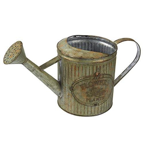 Juvale Gießkanne–Rustikal Eisen verzinkt Wasser Krug mit Griff, antiker Stil, für Haus und...