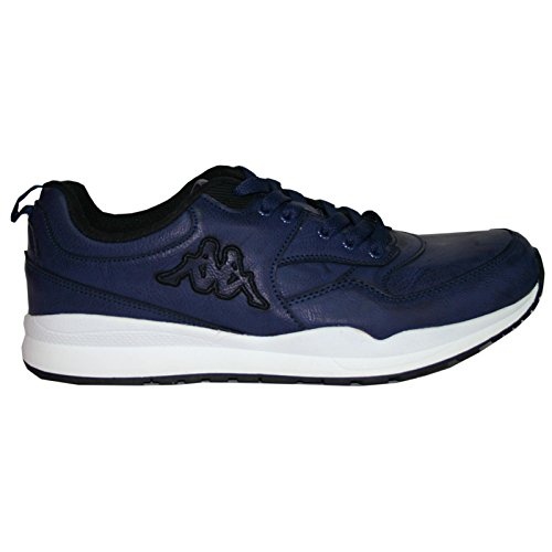 Kappa Dares Chaussures en cuir synthétique bleu marine Black blue marine black