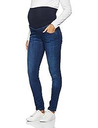bellybutton Women's Slim MIT Überbauchbund Maternity Jeans