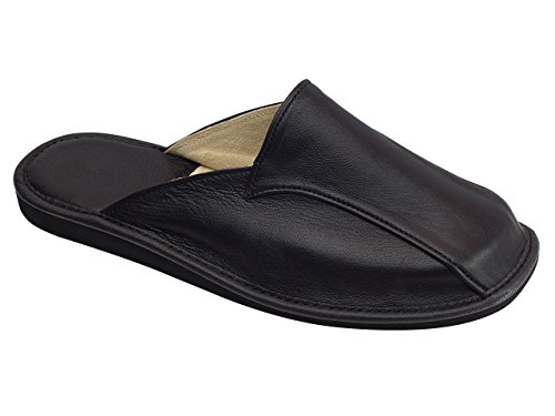 aveego , Chaussons pour homme Noir