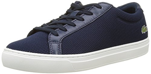 Lacoste Damen L.12.12 BL 2 Trainer Low, Blau (Nvy), 39.5 EU (Blau Klassisches Mesh Polo)