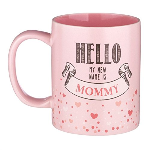12-ounce New Mother Mug - Hello My NEW Name is...