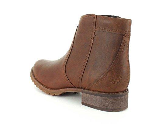 Timberland Banfield Ankle Rund Leder Mode-Stiefeletten Brown