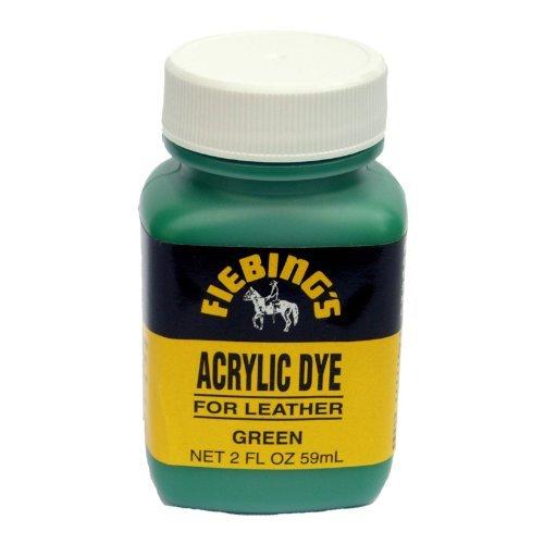 fiebings-acrylic-leather-paint-dye-green