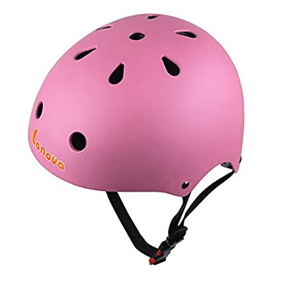 LANOVAGEAR Adjustable Kids Cycling Multi-Sport Safety Bike Skating Scooter Helmet for 3 to 8 Years Old Girls/Boys by LANOVA