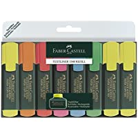 Faber-Castell Textliner 48 Refill - Subrayadores (8 unidades) multicolor