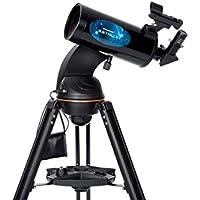 Celestron 22202 AstroFi 102 Wi-Fi Maksutov Wireless Reflecting Telescope - Black