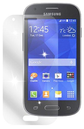 dipos I 2X Schutzfolie klar passend für Samsung Galaxy Ace Style Folie Displayschutzfolie