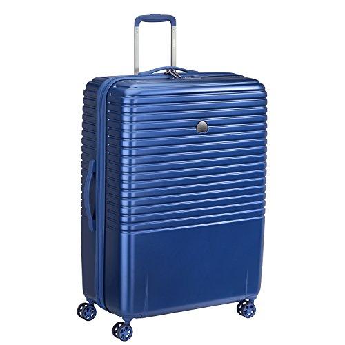Delsey Paris Caumartin Plus Valise, 107 Litres, Bleu