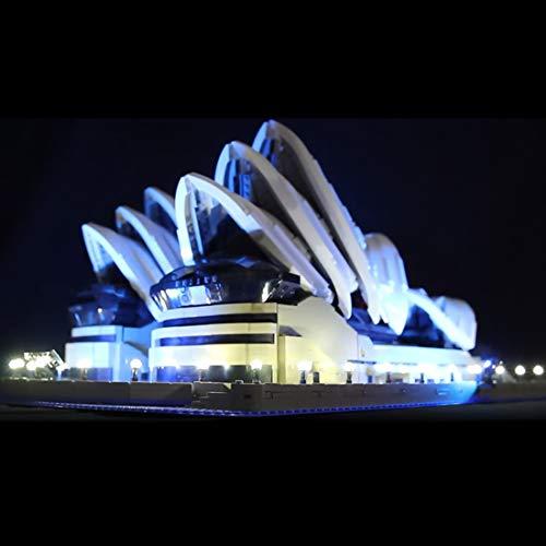 BANDRA Licht Kit - LED Licht-Set für Lego 10234 - Creator Sydney Opera House Konstruktionsspielzeug (Nicht enthalten Das Lego-Modell) - Sydney Opera House