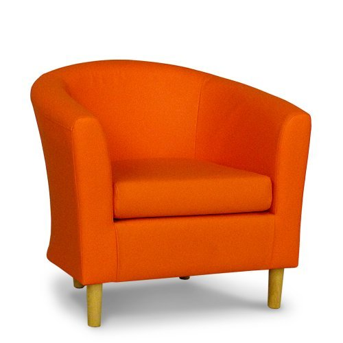 faux-leather-tub-chair-in-orange-leather-home-life-direct