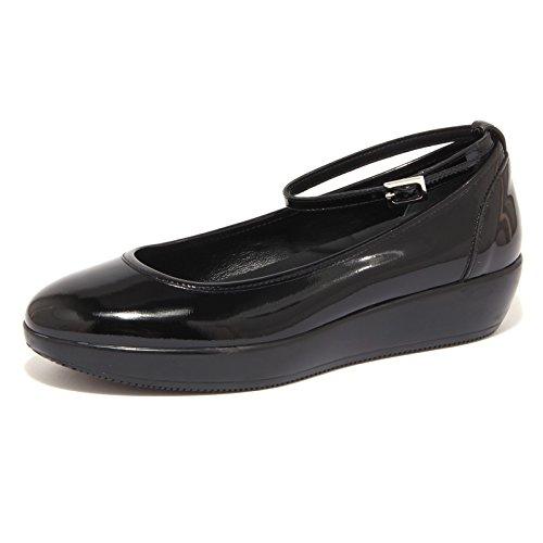 2627G ballerina HOGAN H186 CINTURINO nero scarpa donna shoe women [35]