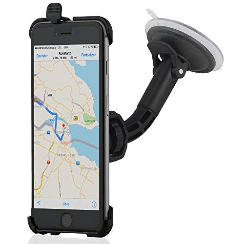 Wicked Chili KFZ Halterung für Apple iPhone 6s Plus/6 Plus Autohalterung (Kugelgelenk, vibrationsarm, Made in Germany, schwarz)