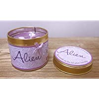'Alien' Perfume Scented Candle Tin - Personalised Birthday Gift/Present/Mothers Day