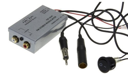 Universal FM Modulator Stereo MP3 Auto Antenne Kabel car radio Cinch AUX Adapter