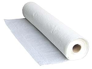 H-ROOT Massage Tisch Couch Papier Roll Cover Sheets Hochwertige 2 Ply Papierrolle 60cm x 195cm pro Blatt, 80 Meter pro Rolle, 41 Blätter pro Rolle. Idee für Massage-Therapie, Salon, Schönheit, Sportverletzung und Massage. (1)