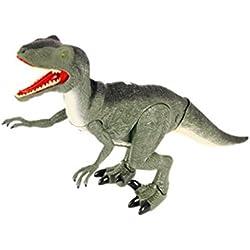 Dinosaurio Rc Velociraptor (Se Mueve, Luz y Sonidos) Juguetes Originales Baratos Niños