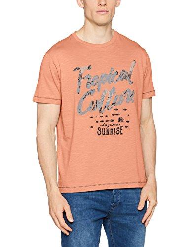 LERROS Herren T-Shirt Orange (Canyon Sunset 907)