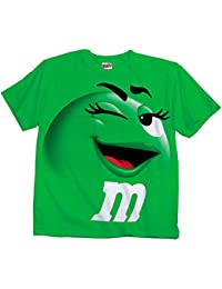M&M's Candy Silly Character Face T-Shirt