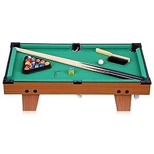 Excelvan mini Billiardtisch mit 2 Billiardqueues 16 Kugeln 24 Zoll