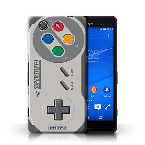 Preisvergleich Produktbild Hülle für Sony Xperia Z3 Compact / Super Nintendo / Spielkonsolen Kollektion