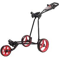 Rocket Bunny® 3 Wheel Trolley Golf Cart with Scorecard Holder One-Click Easy Folding Golf Trolley