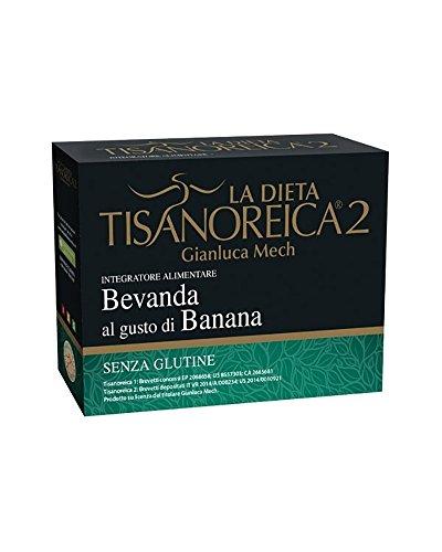 tisanoreica 2 bevanda gusto banana 28 g 4 buste