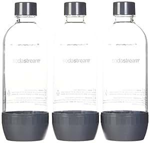 SodaStream 3 x 1L PET-Flasche, farblich sortiert (Farbe nicht frei wählbar)