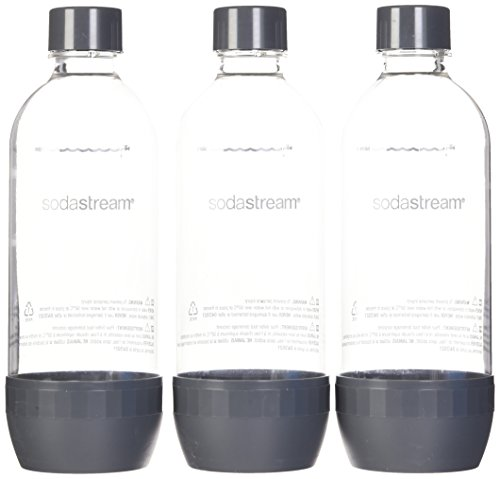 SodaStream 3 x 1L PET-Flasche, farblich sortiert (Farbe...
