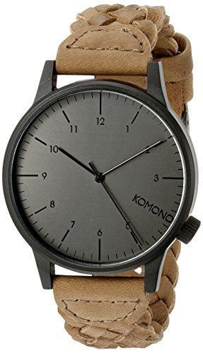 Komono Retrograde Black/Cognac