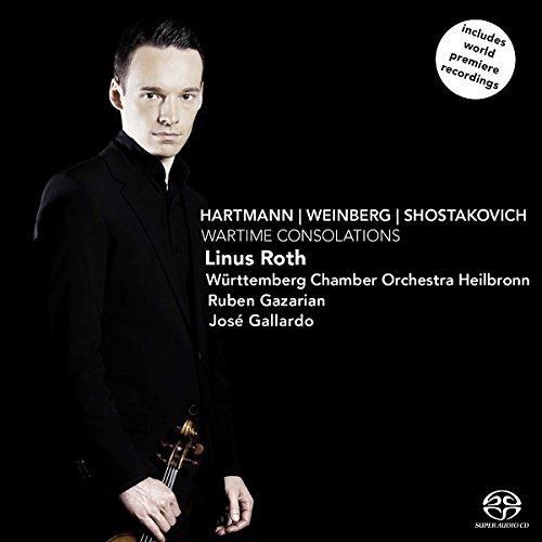 Wartime Consolations - Hartmann, Weinberg, Shostakovich