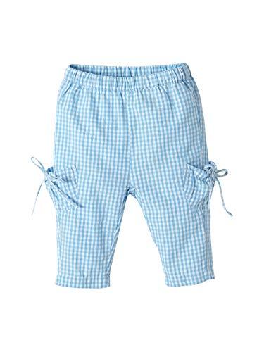 Cyrillus Pantalon Carotte Vichy bébé 12M Vichy Bleu Ciel/Blanc Optique