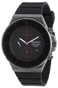 Seiko Chronograph Polyurethane Strap Men's watch #SNDD61 de Seiko