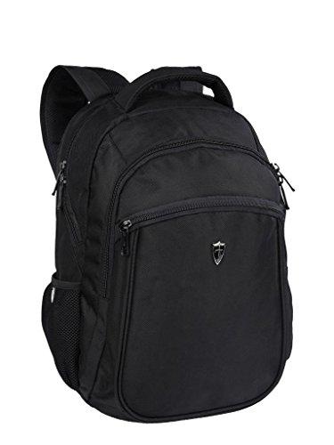 Victoriatourist V6003 Laptop Backpack Zaino Portatile Di College Bookbag Adatta Macbook Pro / Maggior Parte Dei Laptop Da 15,6 Pollici / Compresse, Il Nero