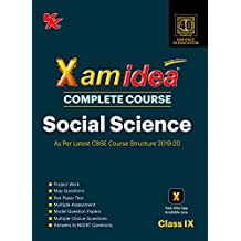 Xam Idea Complete Course Social Science for CBSE Class 9 - 2020 Exam