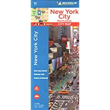 Plano New York City, Manhattan (Planos Michelin)
