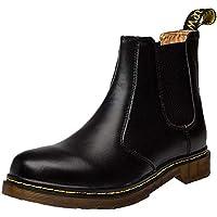 LILICAT☃ Vino Negro Pardo 35-40 Pareja Inglaterra Vintage Martin Botas Botas de Moto Herramientas Militares Botas de la Sra. Inglaterra Botas Altas de Zapatos de Moto