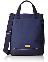 Basil Urban Fold de Cross Body Bag alforjas, color Deep Denim Blue, tamaño 35 x 15 x 45 cm, 20 Liter, volumen liters 20.0