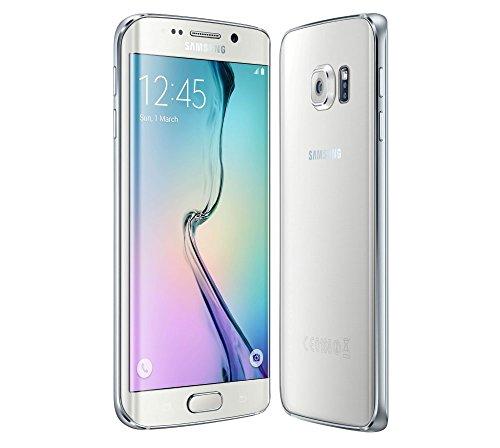 "Samsung Galaxy S6 Edge G925 Smartphone, Display 5.1"" SAMOLED, 32 GB, 3 GB RAM, Processore Quad-Core, Bianco, Marchio Vodafone, [Italia]"