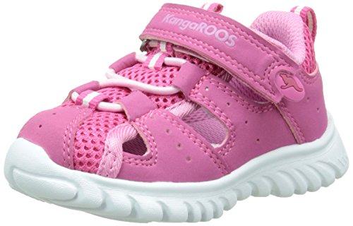 KangaROOS Rock Lite, Baby Mädchen Lauflernschuhe, Pink (lillipilli/Begonia 660), 25 EU