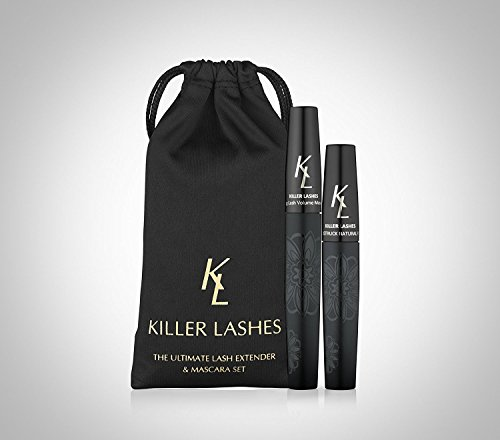 KL Killer Wimpern - Ultimative Wimpernverlängerung und Mascara 9ml & 6ml Set (Wimpern-extender)