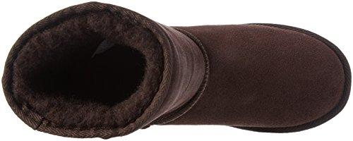 Nebulus Q1911, Stivali a metà polpaccio imbottiti caldi Donna Marrone (Braun 004)