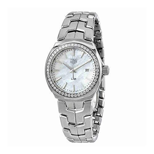 TAG Heuer Link Nacre Diamant montre pour femme Wbc1314. Ba0600