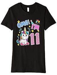 Einhorn 11. Geburtstag T-Shirt- 11 Geburtstag einhorn tshirt