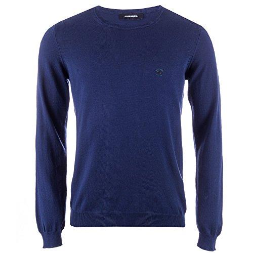 Diesel Herren Pullover Gr. Small, blau (Diesel Herren Pullover)